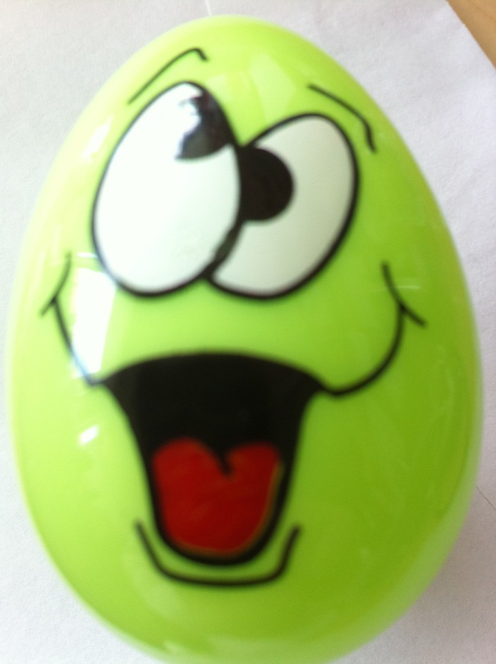 lauging easter egg