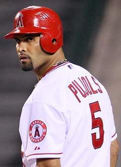 If it's an awesome stat, and it's from the past 10 years, it most likely involves Pujols. (Getty Images)