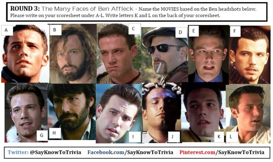 affleck movie quiz